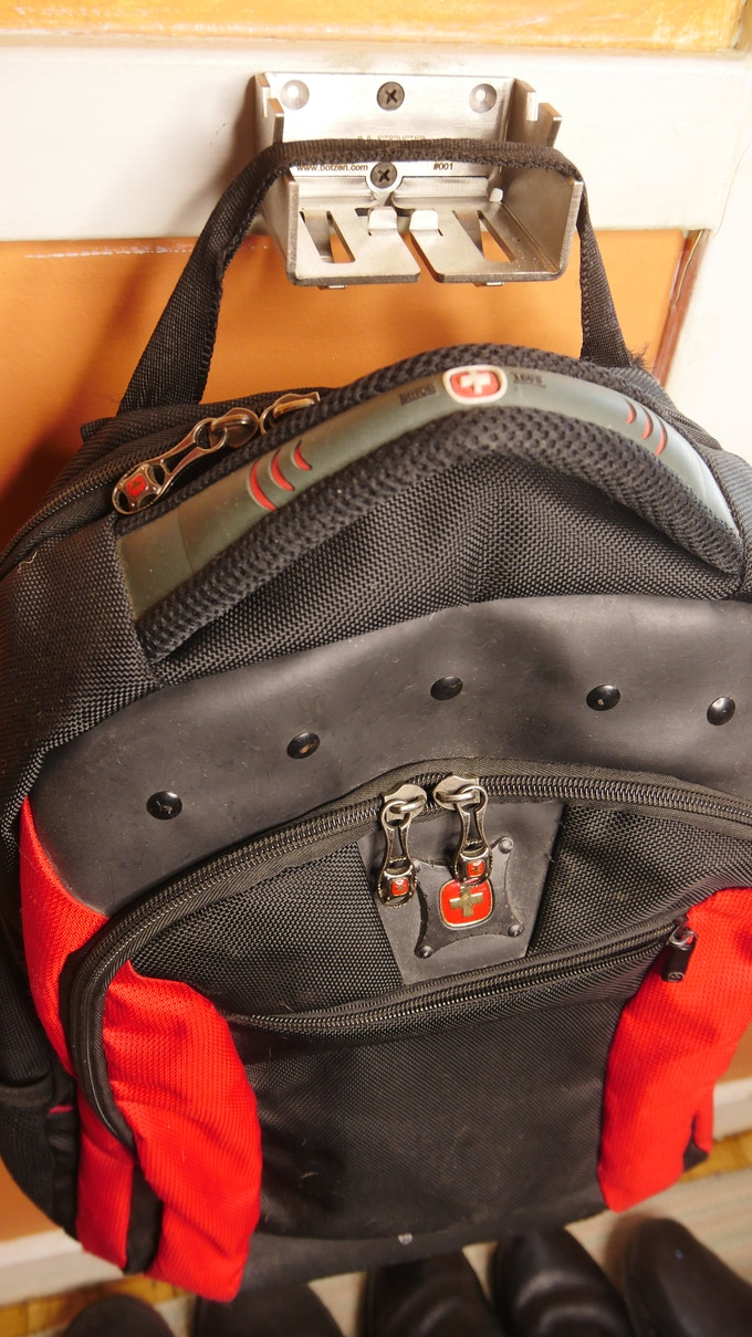 Backpack use