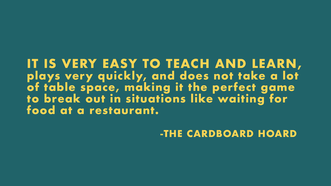 Click the review above to read The Cardboard Hoard's complete review.