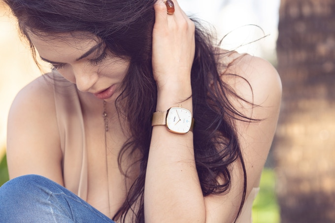 One watch reward - Superbe 36 mm Rose Gold by NOWA