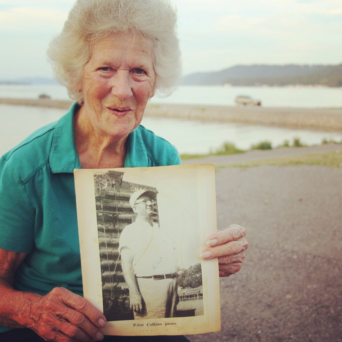 Dorris Turner told us about her father, a steamboat pilot on the Tennessee River