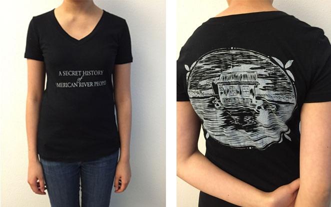 Classic black Secret History T-Shirt