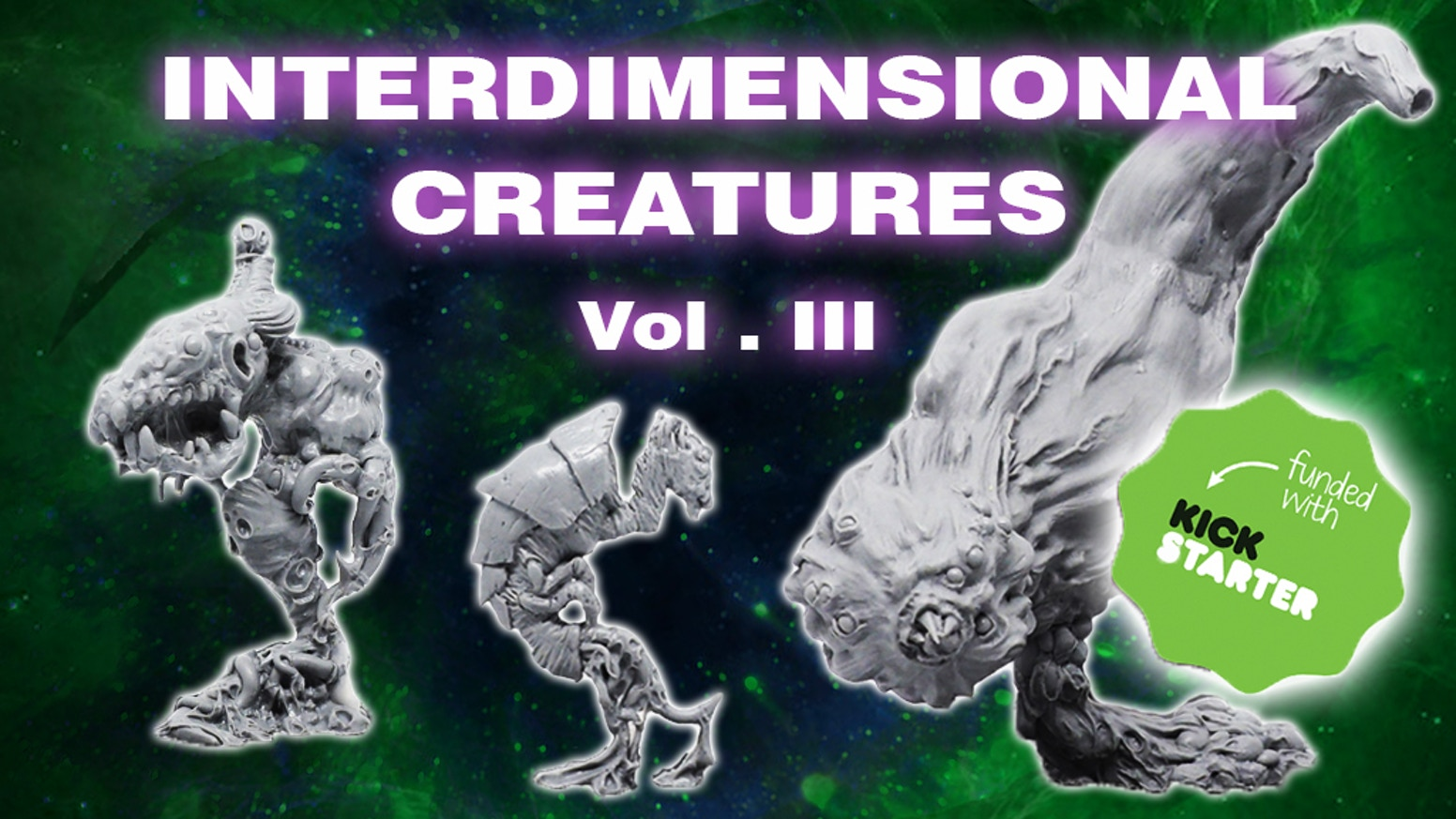 New wave resin miniatures collection based on H.P. Lovecraft's works, designed for RPG gamers, Painters, Collectors and Monster lovers.