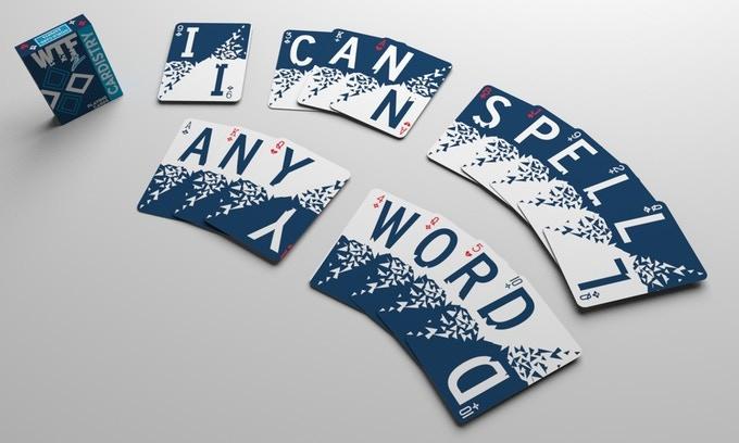 WTF2 Cardistry Spelling Deck