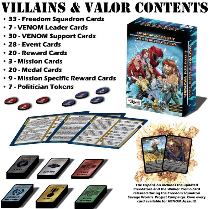 VENOM Assault: Villains & Valor
