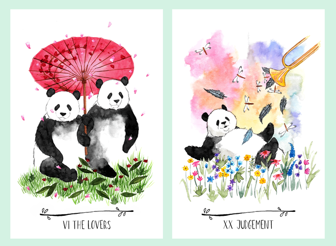 Way of the Panda Tarot by Kimberly — Kickstarter