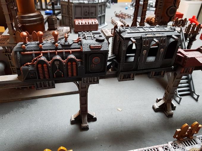 gothic rail carriage