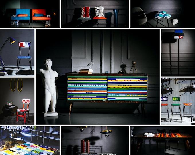 Furniture by Vibrazioni art-design