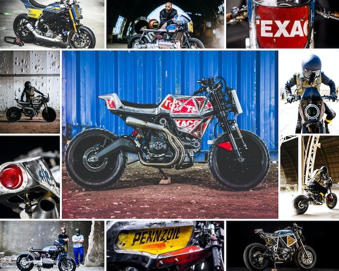 Custom motorbikes by Vibrazioni art-design