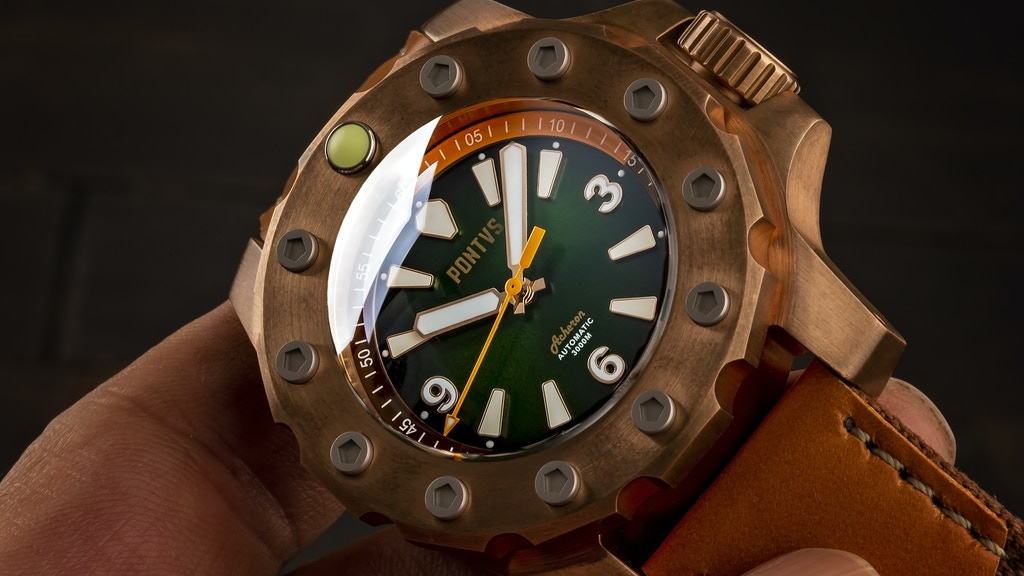 PONTVS: Swiss ETA Automatic Watch with 3000mt WR project video thumbnail