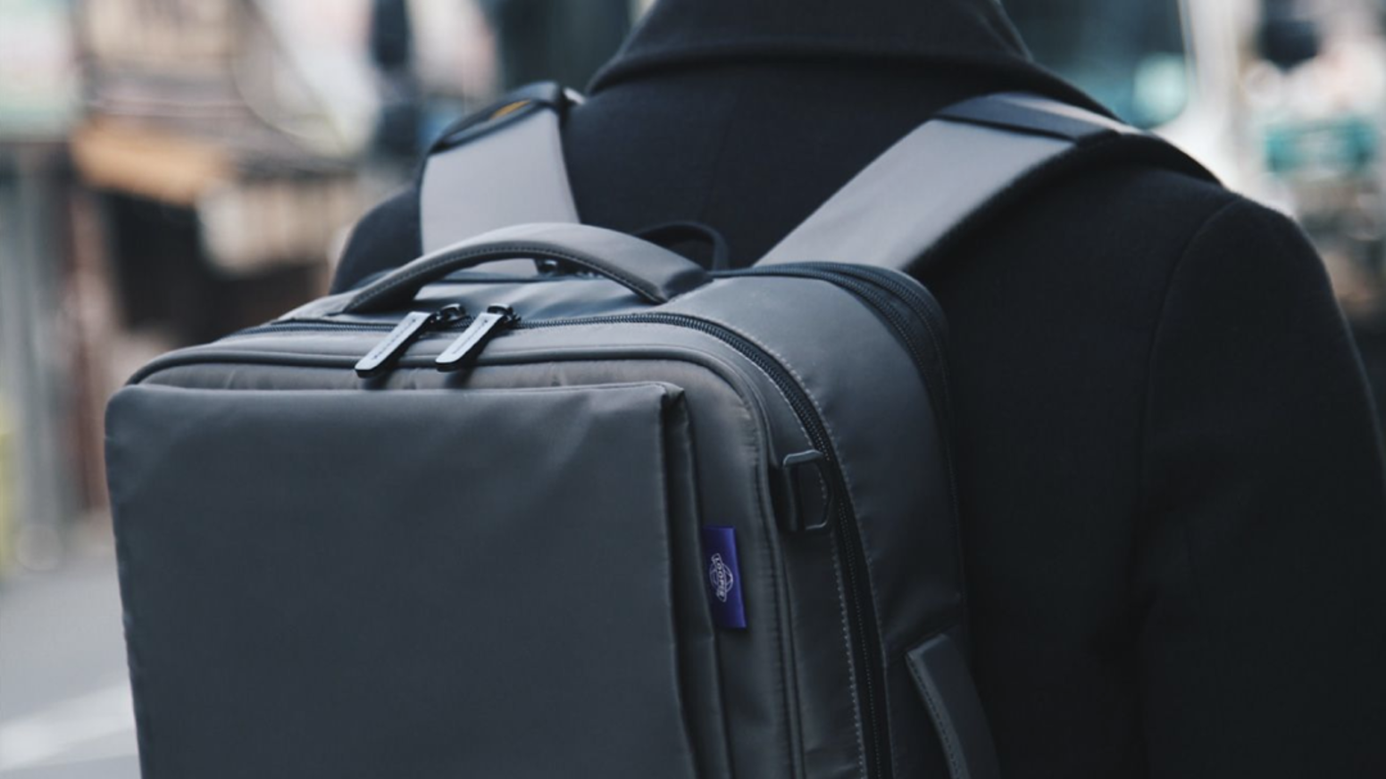 A luggage, but not a luggage. A backpack that suits the modern generation of tech savvy millennials and those that take short trips.