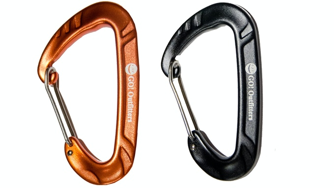 Each GO! Hammock 2.0 includes 2 premium grade aluminum carabiners, a $13 value!
