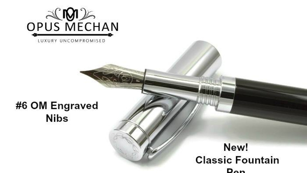 Classic Fountain Pen project video thumbnail