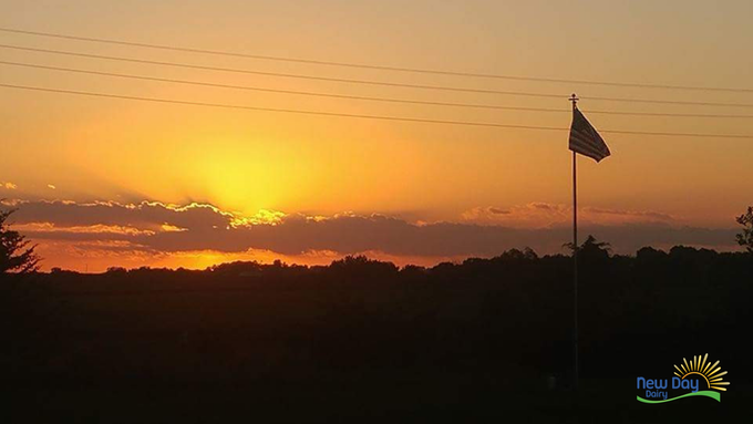 #nofilter Iowa Sunset from the Porch