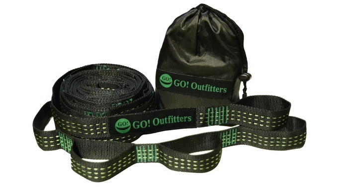 Quick Link Tree Straps are the most cost effective and easiest way to hang your GO! Hammock 2.0