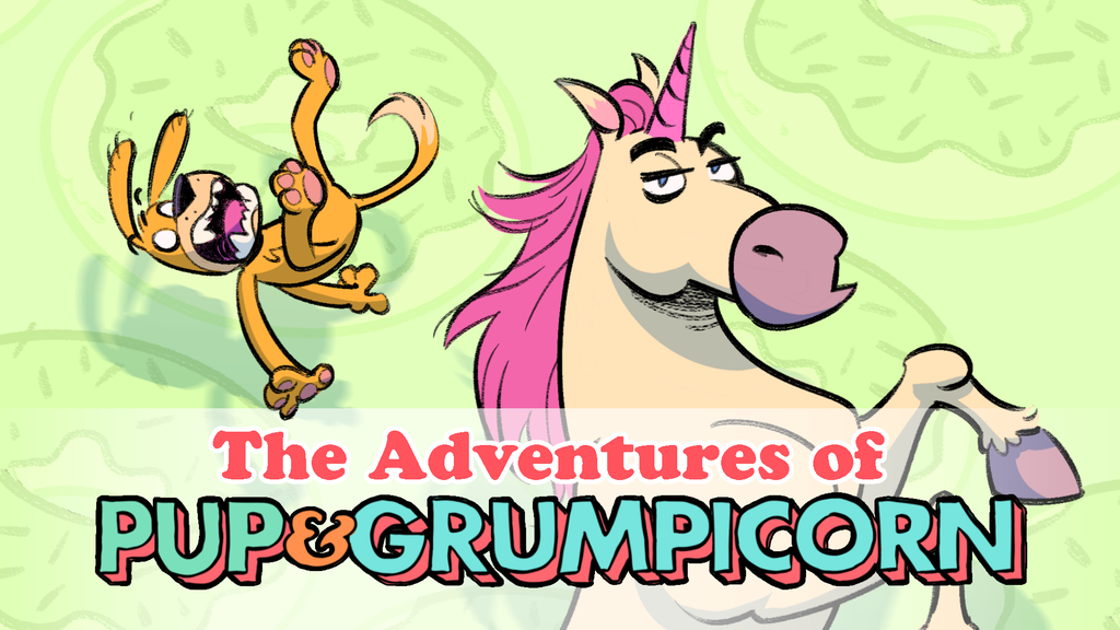 The Adventures of Pup & Grumpicorn project video thumbnail