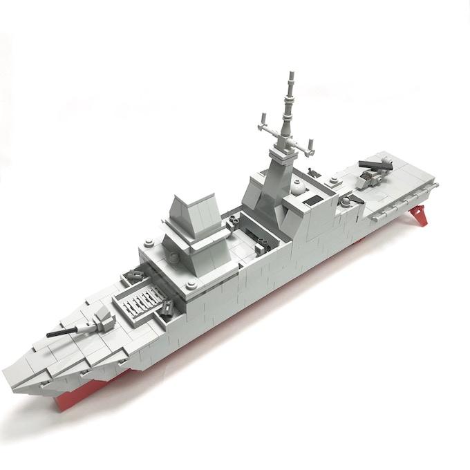 Formidable-class Frigate (43 x 7.7 x 20.3cm)