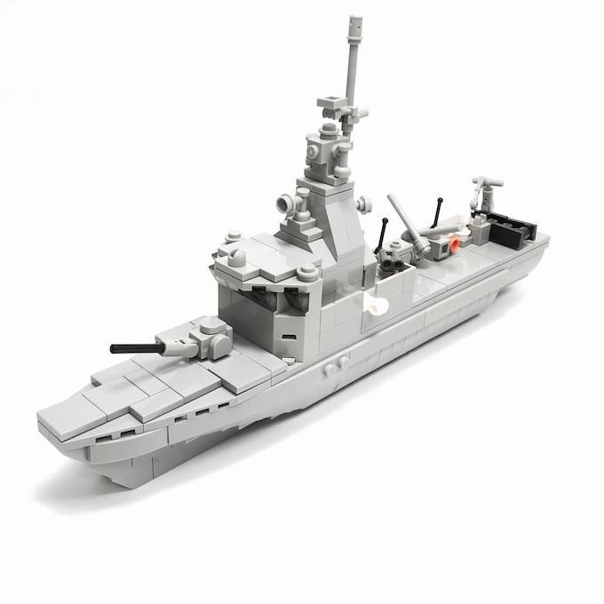 Victory-class Missile Corvette (26.4 x 6.2 x 14.7cm)
