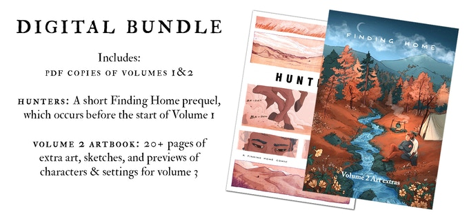 The digital PDF bundle is included in all higher tiers (traveller's bundle and above) or available on its own in the Arcane Library tier