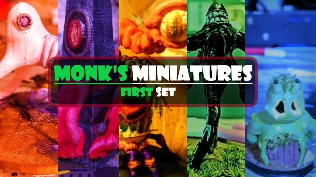 Project image for Monk's Miniatures: First Set (Canceled)