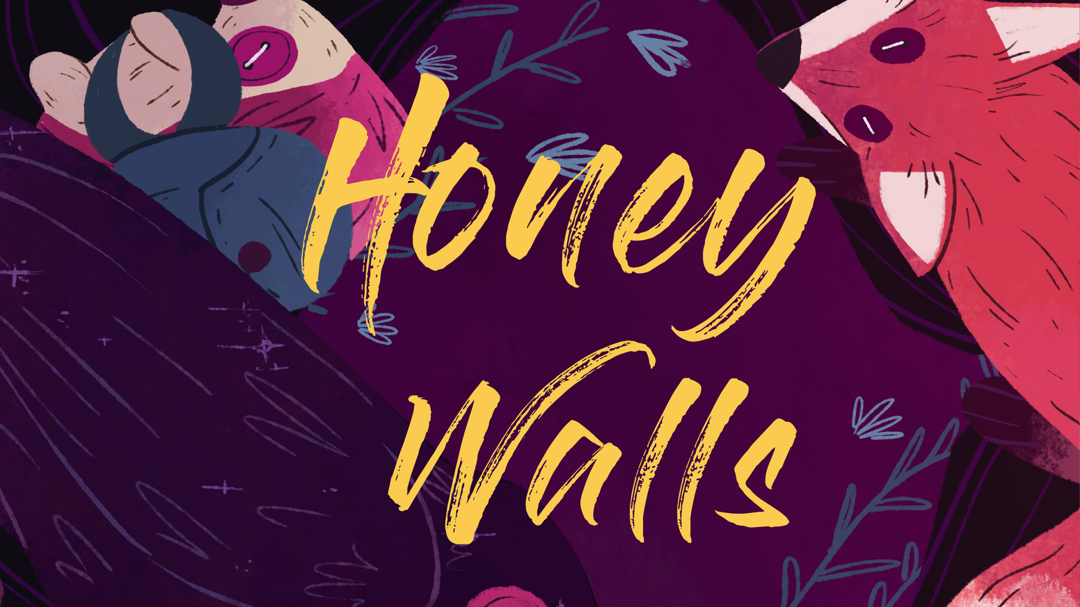 """Honey Walls"" is a stand alone fantasy novel about a trans man on a quest to find his heart. Created by an all trans team."