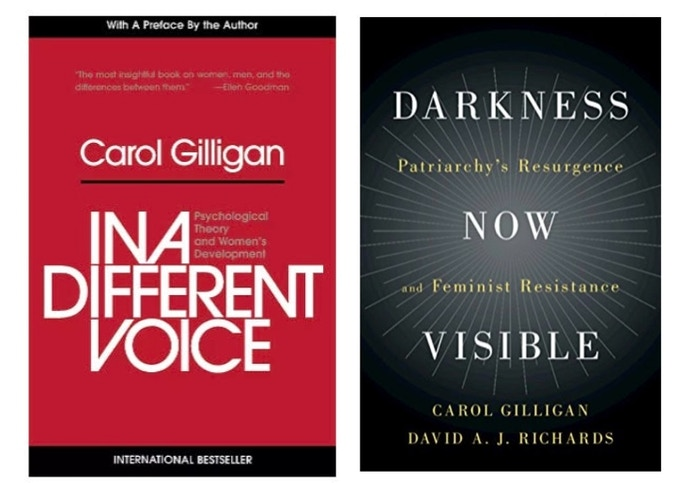 $100 Reward Level - Choice of one signed book by  American feminist, ethicist, and psychologist  Carol Gilligan