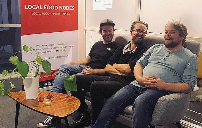 LFN Team: Alexander Frödeberg - David Ajnered - Albin Ponnert