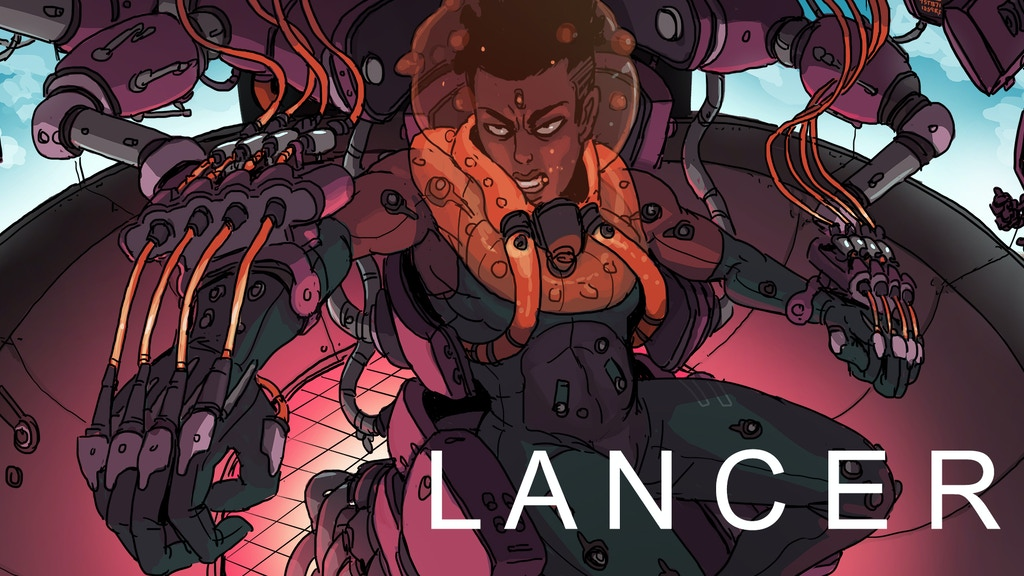 Lancer is a mud-and-lasers RPG about mechs and the pilots who crew them. Narrative play, gritty tactical combat and deep customization.
