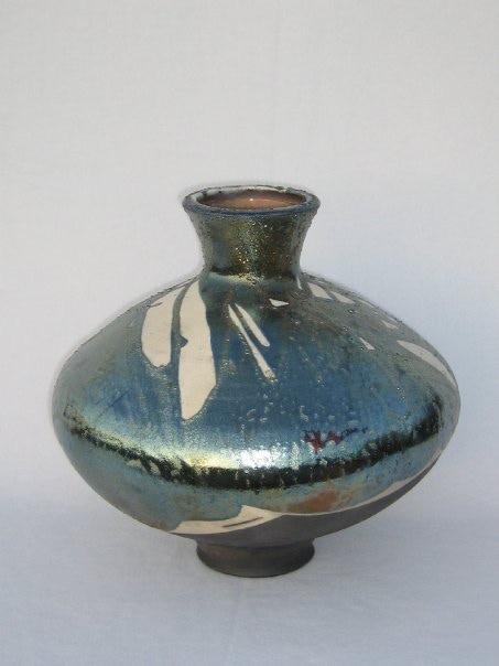Raku piece (sample)