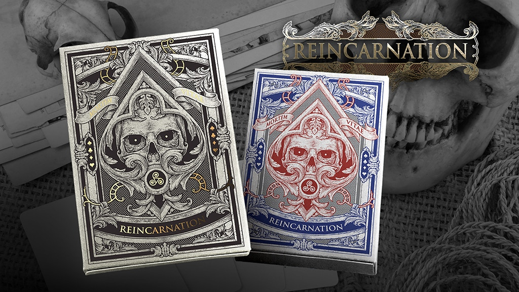 Project image for REINCARNATION Playing Cards Deck Printed By USPCC