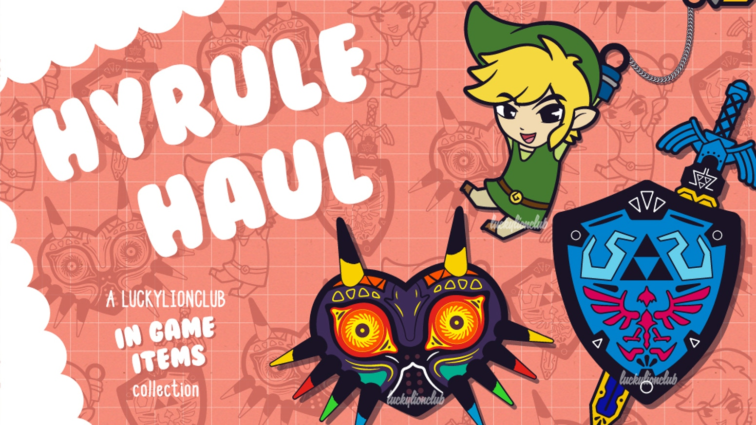 Hyrule Haul Kawaii Enamel Pins With Rogue Retro Pokemon By Emma