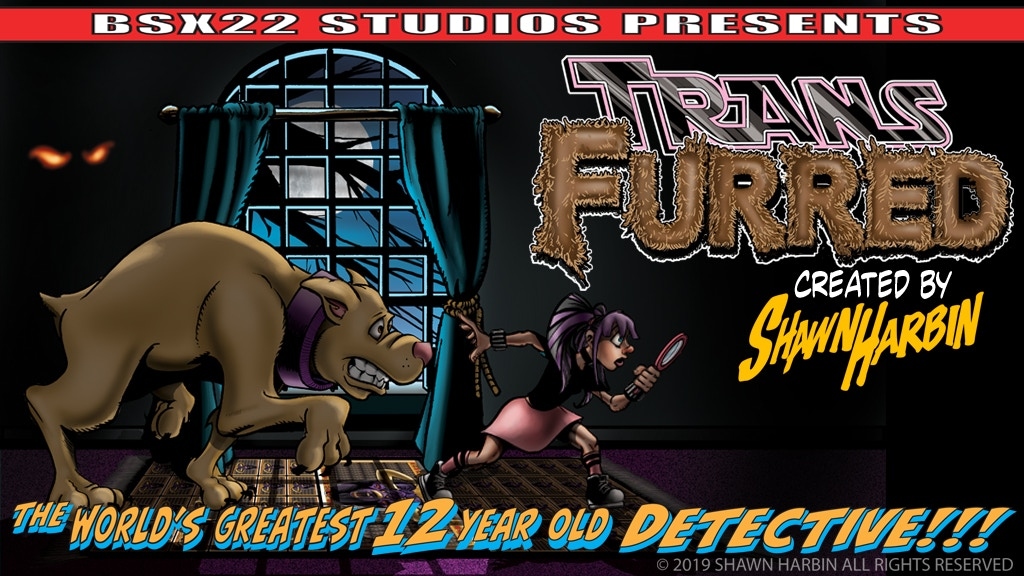 Transfurred: The Worlds Greatest 12 Year Old Detective project video thumbnail
