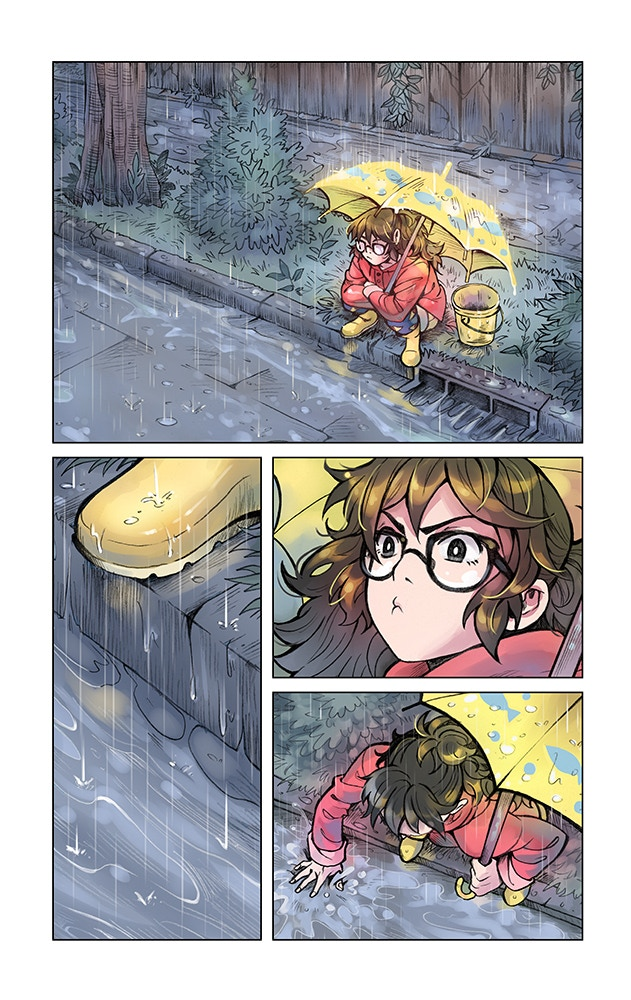 A page from Idols Issue 1~
