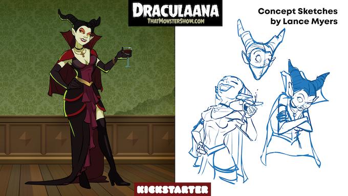 Draculaana, The Vampire Queen