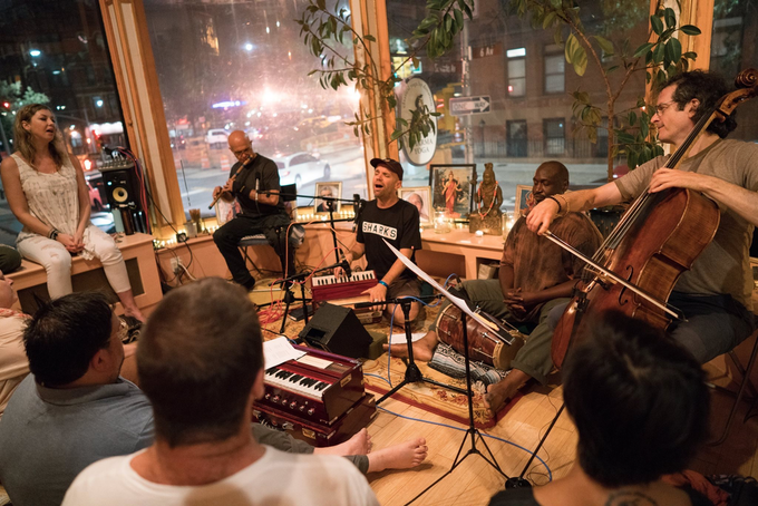 kirtan at Brooklyn Yoga School