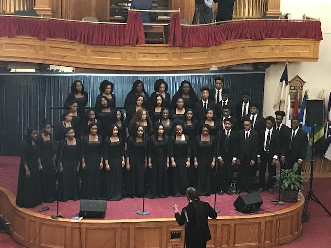 Pine Forge Choir at Hanson Place SDA in Broooklyn, New York