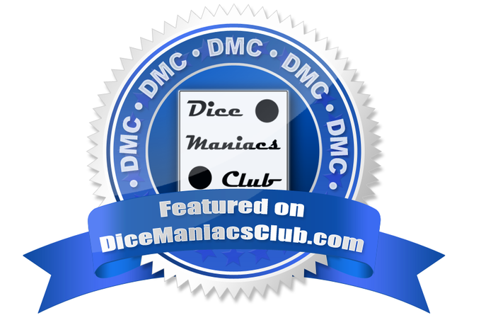 Want to check out some amazing discussions and dice collections? Check out the Dice Maniacs Club on Facebook!