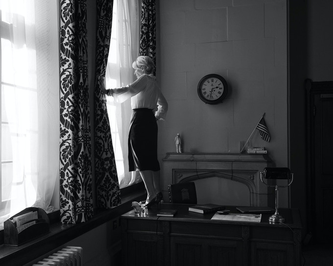 eward print #2 Nadine Dorries, MP for Mid-Bedfordshire photographed by Jane Hilton