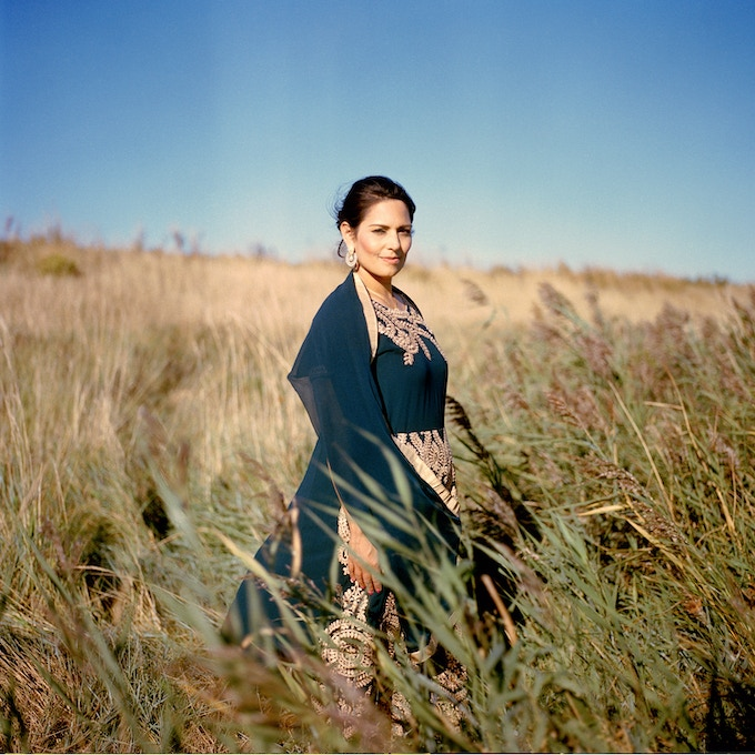 Priti Patel, MP for Witham photographed by Rhiannon Adam