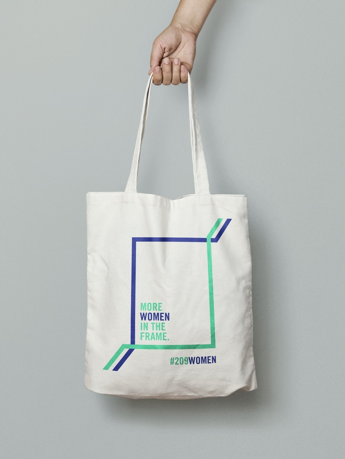 Special 209 Women tote bag (see rewards).