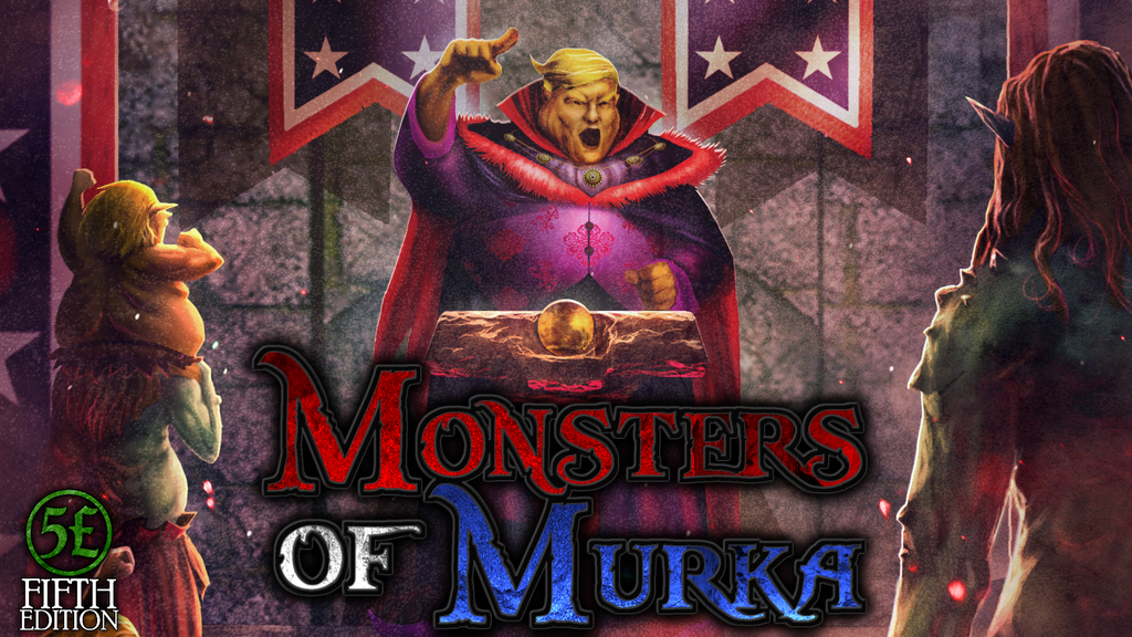 Monsters of Murka Campaign Setting for 5e DnD project video thumbnail