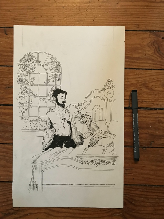 This original is for sale as its own level.