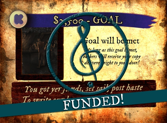 $2,500 - Goal - FUNDED!