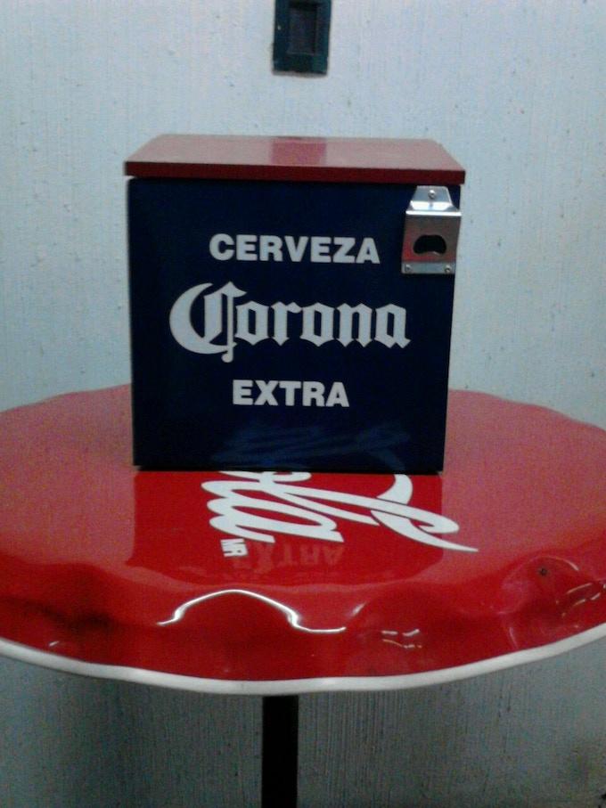 Imagen 1 de la hielera de Coca-Cola