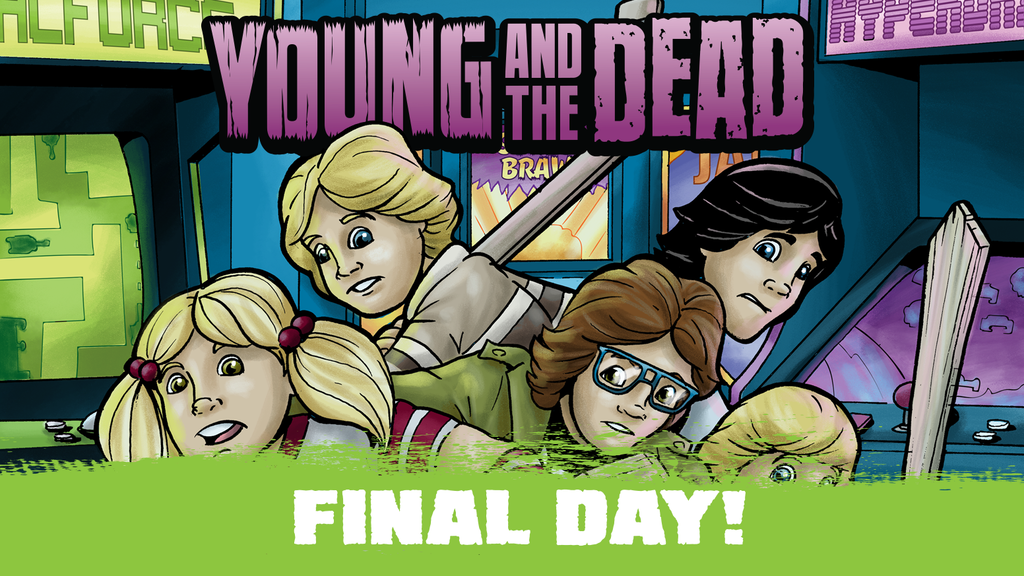 Young and the Dead: A Kids vs Zombies 80s Adventure project video thumbnail