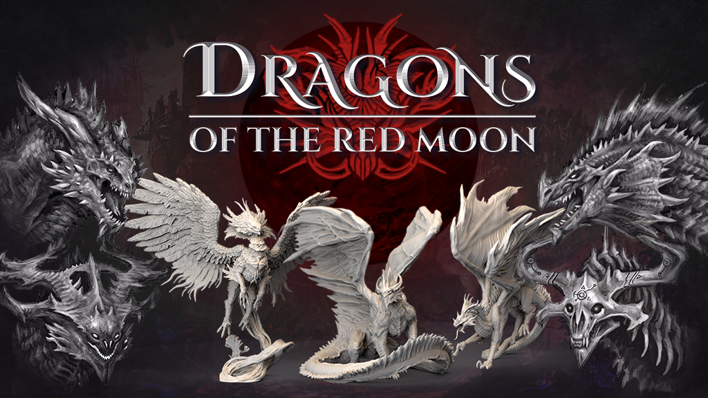 Dragons of the Red Moon project video thumbnail