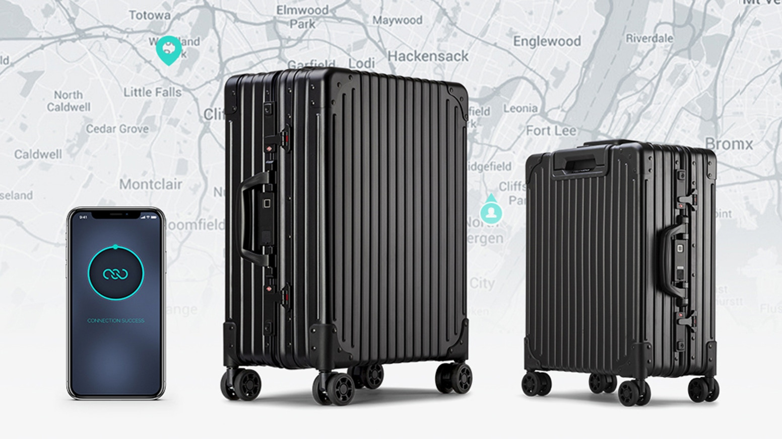 NOVI is a smart suitcase that you can afford.