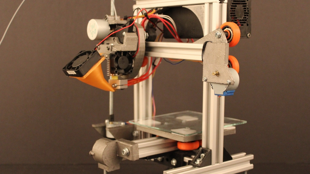 mEnder: A tiny metal frame 3D printer project video thumbnail