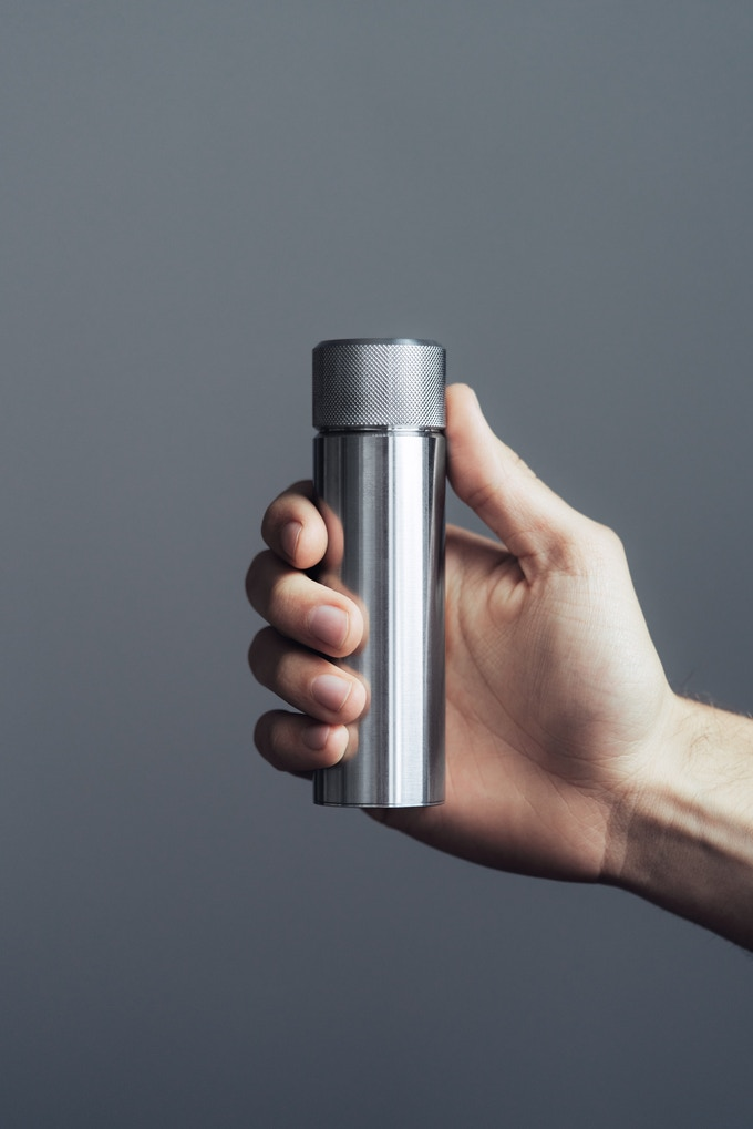 100ml capacity, made in the UK with the option to personalise the base.