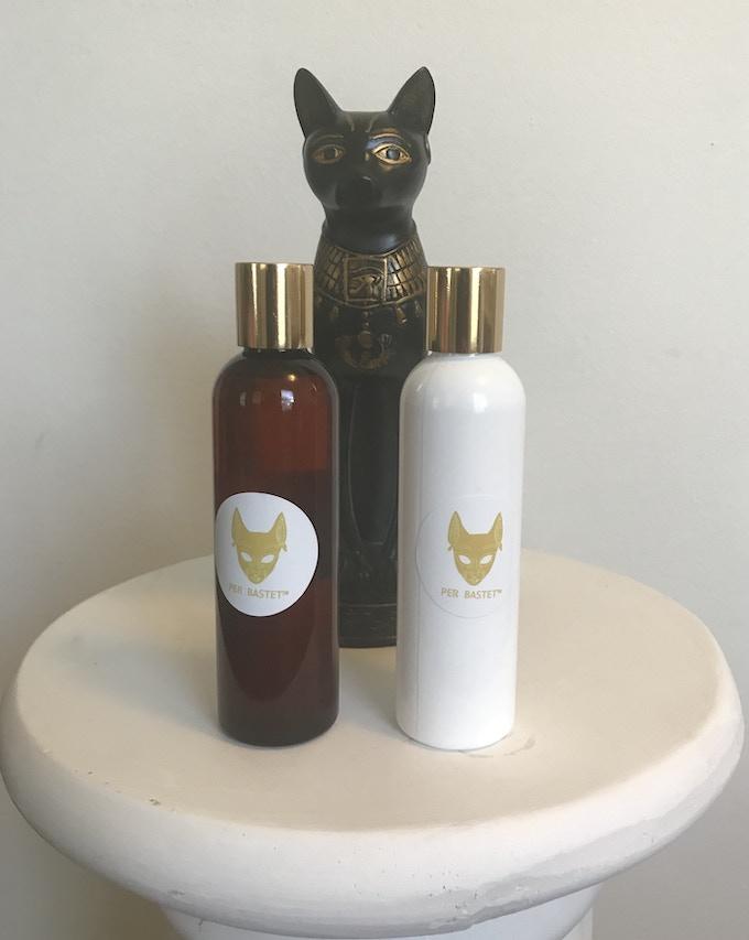 PER BASTET Face Oils: Akhet (Amber), Ankh (White)