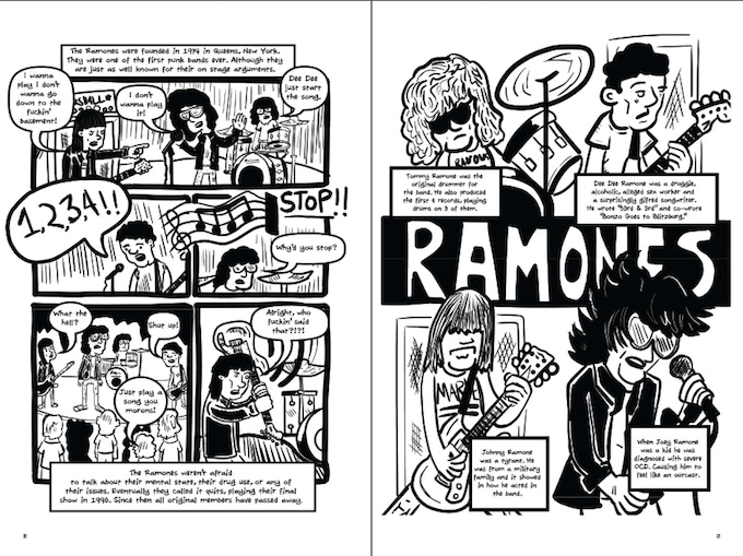 It would be hard to tell this story without the late, great Ramones.